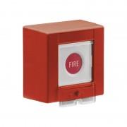 Funk ABUS FUAT50020 Secvest Funk-Feuer Melder Taster rot Feuer Fire mit Batterie