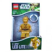 Rocco Giocattoli Lego Star Wars C3PO - Portachiavi con Luci