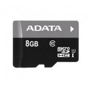 Micro SDHC ADATA Premier 8GB UHS-I U1 + adaptor SD AUSDH8GUICL10-RA1