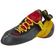 La Sportiva Genius Climbing Shoes Unisex red/yellow 2017 44,5 Kletterschuhe