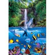 Master 450 small piece Lassen Eternal Rainbow Sea I 08-308 of puzzle (japan import)