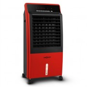 oneConcept CTR-1 Air Cooler CTR-1 4-in-1 Mobile Air Conditioner Humidifier Purifier Ioniser 65W Remote Control Red