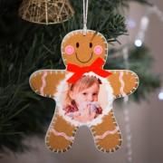 Fényképes karácsonyfadísz, Mézi