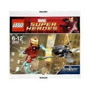 LEGO Super Heroes: Iron Man vs Fighting Drone Establecer 30167 (Bolsas)