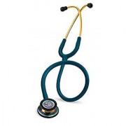 3M Littmann Classic III Stethoscope Rainbow-Finish Caribbean Blue Tube 27 inch 5807