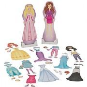KidKraft Magnetic Dolls - Fashion & Fairytale