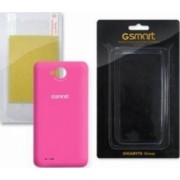 Skin Gigabyte Various GSmart Rio R1 Roz cu folie ecran
