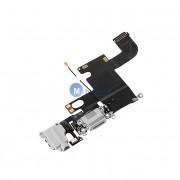 Banda cu conector alimentare / date audio si microfon Apple iPhone 6 argintiu