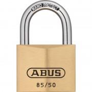 ABUS 85/50 Vorhangschloss aus massivem Messing gleichschließend
