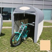 maddi Motobox A Tunnel Copertura Box In Pvc Per Moto Scooter - 270x120xh155 Cm/beige Maddi