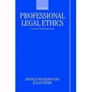 Professional Legal Ethics by Donald Nicolson
