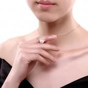 Snubní prsteny chirurgická ocel 1 pár HWRS1561