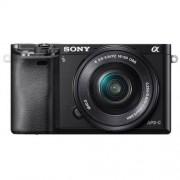 Sony A6000 (ILCE6000) + ob. 16-50 czarny Dostawa GRATIS!