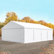 Profizelt24 Lagerzelt 5x8m PVC weiß Unterstand, Lager