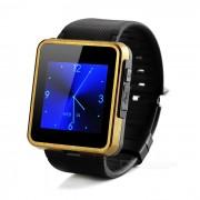 """F1 Waterproof 1.55"""" Wearable GSM Smart Phone Watch w/ BT Dialer"""