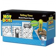 Educational Insights Hot Dots Math Flash Cards- Telling Time