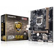 Tarjeta Madre Gigabyte micro ATX GA-X150M-PLUS WS, S-1151, Intel C232, USB 2.0/3.0, 32GB DDR4, para Intel