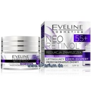 Eveline, Neo Retinol - Antifalten straffende Tag-Nacht Creme 55+, 50 ml