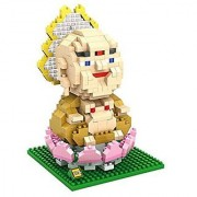 Loz Diamond Blocks Chinese Buddhism 640pc Set Nano-block Mini Figure Great Gift For Boys and Girls Hobbyist