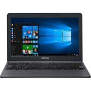 "Laptop ASUS VivoBook E12 E203NA-FD025TS (Procesor Intel® Celeron® N3350 (2M Cache, up to 2.40 GHz), 11.6"", 4GB, 32GB eMMC, Intel® HD Graphics 500, Win10 Home, Gri) + Jucarie Fidget Spinner OEM, plastic (Albastru)"