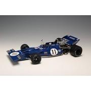 Tyrrell 003 - Modelo Coches Ebbro Fórmula 1 GP de Mónaco 1971 Kit de plástico a escala 1:20