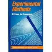 Experimental Methods by Daniel Friedman