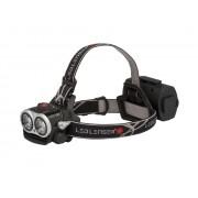 Lanterna Led Lenser 2000 lumeni reincarcabila de cap neagra XEO 19R cu incarcator si husa