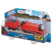 Locomotiva motorizata cu vagon Thomas&Friends - JAMES - BMK87-BML08