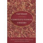 Constitutional Theory by Carl Schmitt