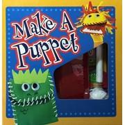 Make A Puppet Roaring Lion Green Lizard