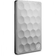 Seagate Backup Plus Ultra Slim 1TB Portable Drive (Platinum) with 200GB Cloud Storage