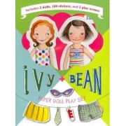 Ivy + Bean Paper Doll Play Set by Sophie Blackall