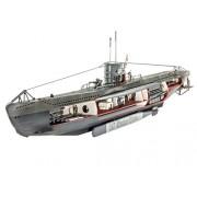 Revell 05060 - German Submarine U-47 with Interior Kit di Modello, in Plastica, in Scala 1:125