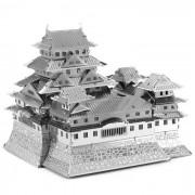 Modelos creativos laser 3D Castillo de Himeji Grandvrio Hotel Puzzle - Plata