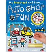 My Press-Out and Play Auto Shop Fun by John Abbott