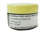 SeeandWear Medium Shine Leather Shoe Cream(Brown)
