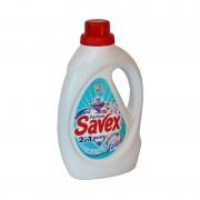 Detergent lichid Savex 2 in 1 White Tiara 1.3l