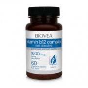 VITAMIN B12 COMPLEX 1000mcg 60 Vegetarian Sublingual Tablets