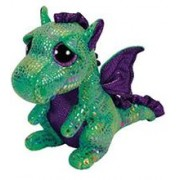 Jucarie De Plus Ty Beanie Boo Cinder The Green Dragon