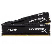 Kit Memorie DDR4 2 x 4 GB 2400 MHz Kingston HyperX Fury Black HX424C15FBK2/8