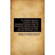 An English-Hebrew Lexicon by Joseph Lewis Potter