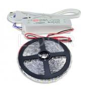 Ledstar kompletná sada, LED pásik 12m SMD3528 60LEDm 4,8Wm vodeodolné trafo 60W