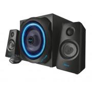 Boxe GXT628 2.1 TYTAN LED, Iluminata, Negru