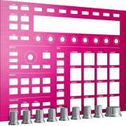 Native Instruments Maschine Mk2 Custom Kit Pink Champagne Plaque Frontale Et Boutons