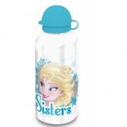 Frozen drinkfles Anna en Elsa Wit