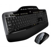 Kit Tastatura + Mouse LOGITECH, model: MK 700, MK 710, layout: ITA, NEGRU, USB, WIRELESS, MULTIMEDIA