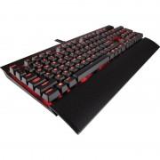 Tastatura gaming mecanica Corsair K70 LUX Red LED Cherry MX Brown Layout EU Black