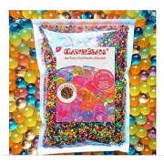 MarvelBeads Water Beads Rainbow Mix 8 oz (20 000 beads) for Orbeez Spa Refill Sensory Toys and Dcor