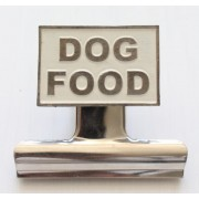 Dog Food Bulldog Clip