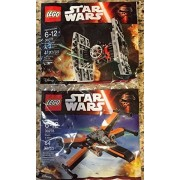 New! Lego Star Wars The Force Awakens 30278 Poes X Wing + 30276 Tie Fighter